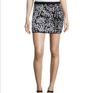 Haute Hippie embellished cheetah mini skirt, Sz. M